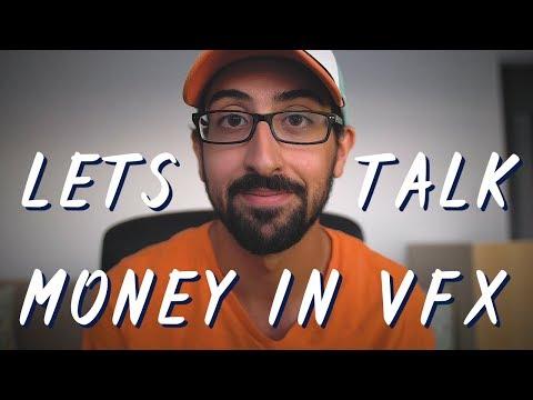 HOW MUCH MONEY DOES A VFX ARTIST MAKE???