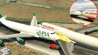 Best Plane Crash Compilation 2016 (GTA 5) #38