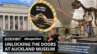 Unlocking the doors at Auckland Museum | #ReopenRun
