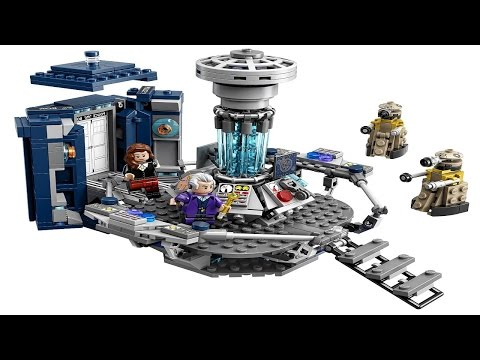 LEGO Ideas 21304 Doctor Who with Tardis and Dalek (Instruction Booklet)
