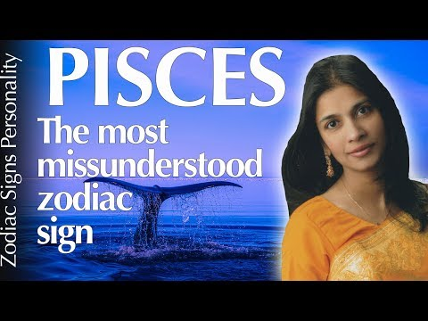 PISCES  zodiac sign personality traits & psychology according to astrology