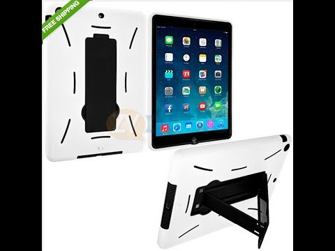 Apple iPad Air Hybrid Hard Silicone Case With Stand From Ebay Review