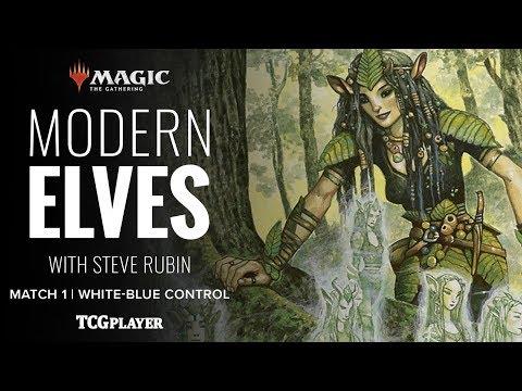 [MTG] Modern Elves | Match 1 VS White-Blue Control