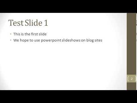 2014 Test Powerpoint III widescreen