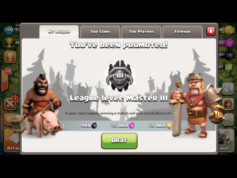 Clash of Clans- How to Get to Masters League at TH9