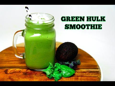 GREEN HULK SMOOTHIE - CookingwithKarma