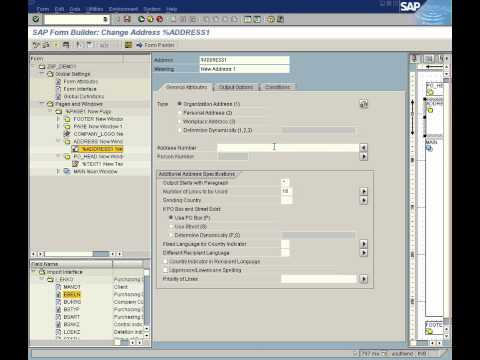 SAP ABAP Smartforms Demo for PO - Part 1