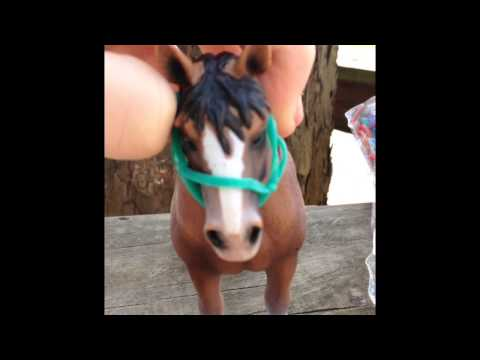 How To Make A Schleich Halter With Rubber Bands Style 2