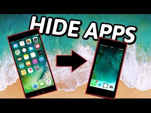 How To Hide Apps For iPhone, iPad & iPod Touch [ 2018/ iOS11- ]