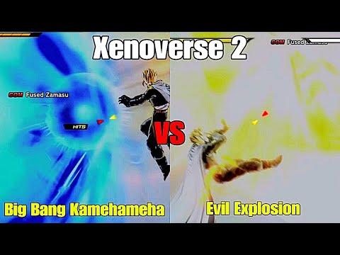 Xenoverse 2: Big Bang Kamehameha VS Evil Explosion W/ Ubakoiusblack