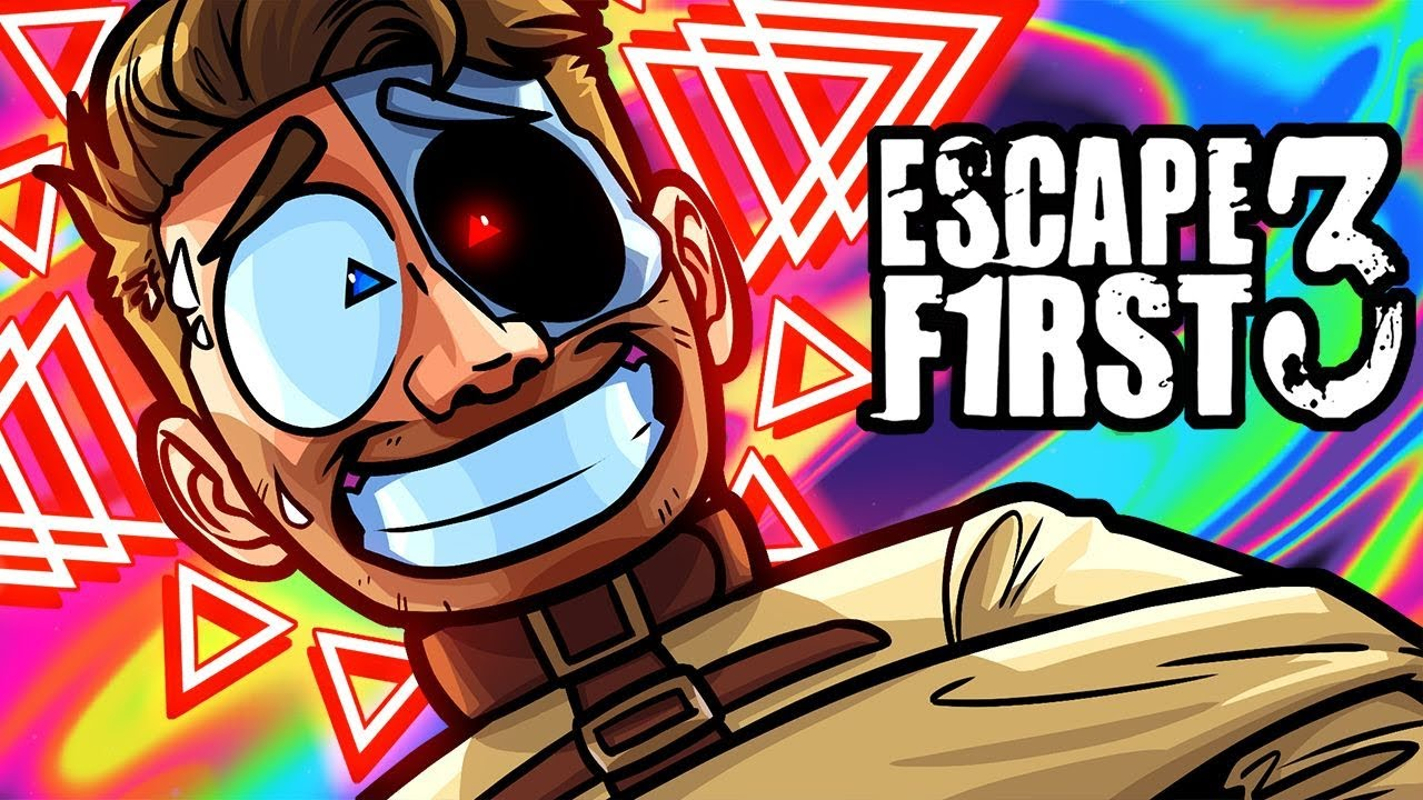 Escape First Funny Moments - Brian Goes Crazy Over Triangles!