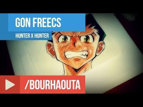 draw Gon Freecs ( Hunter x Hunter )