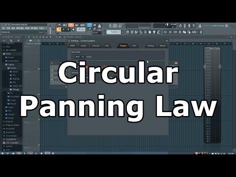 FL Studio: WTF is Circular Panning Law?
