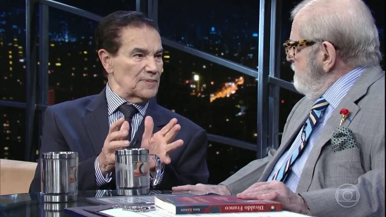 TV Globo - Jô Soares entrevista Divaldo Franco