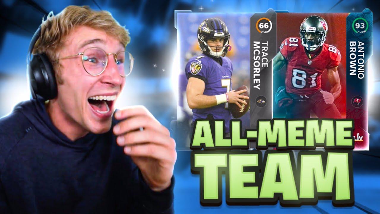 The NFL All-Meme Team..!