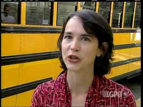 School Bus Demo at Georgia Capitol