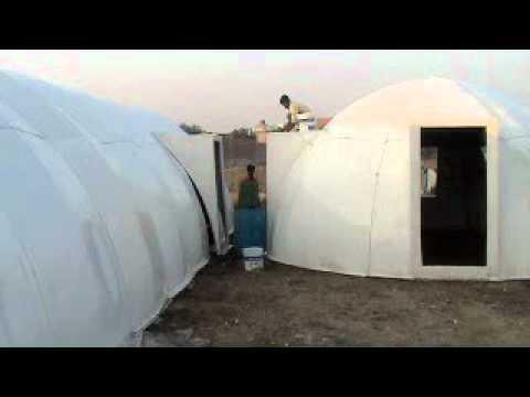 FRP fibreglass dome prefabricated shelter by ready homes Enterprises Readyhomes house