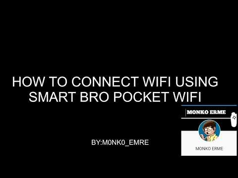 How to Connect Wifi using Smart Bro Pocket Wifi
