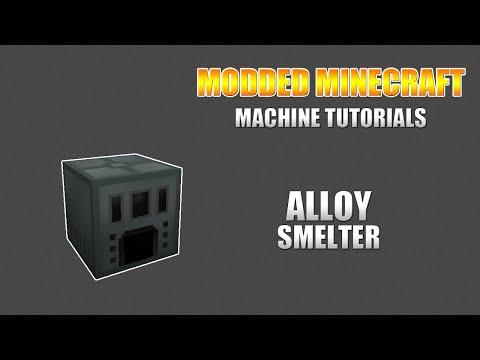 Modded Minecraft - Machine Tutorials - Ender IO: Alloy Smelter