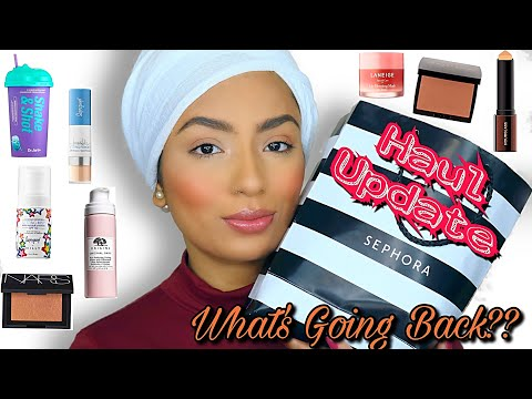 Sephora Sale Haul Update! What worked & What Will I return? Mini Reviews!