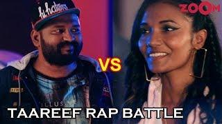 Rap Battle - D'evil vs Dee MC | Kaneez Surka | Taareef Rap Battle