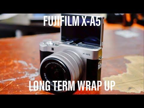 Fujifilm X-A5 Long Term Wrap Up