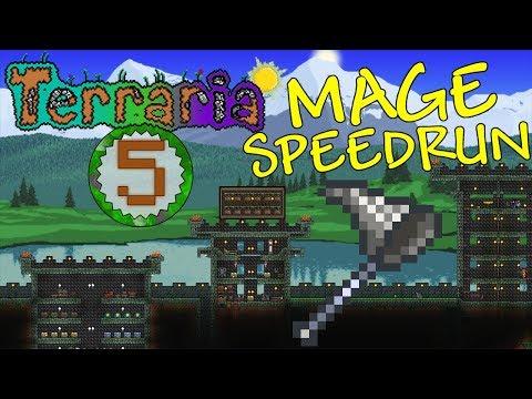 Terraria: Mage Speedrun Part 5 - PREHARDMODE PLAN
