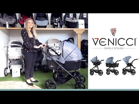 Venicci Prestige Edition Pram & Pushchair Store Demo - Direct2Mum