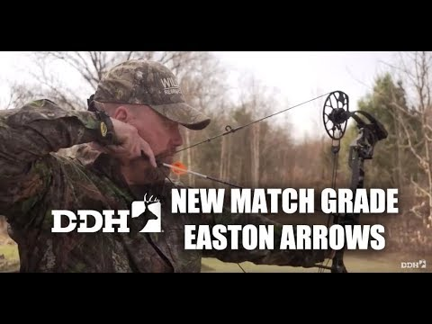 New Bowhunting Gear: Match Grade Easton FMJ Arrows