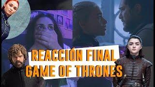 REACCIÓN FINAL JUEGO DE TRONOS 8X06 | Andrea Compton