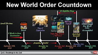 The Evil Plan To Bring About The New World Order - Shown To Us In Plain Sight