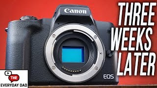 Why the CANON M50 is my NEW MINIMALIST, EVERYDAY CARRY, GO TO CAMERA