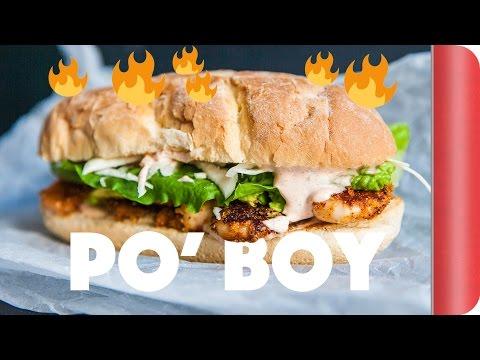 Incredible Shrimp Po Boy Sandwich Recipe - Creole Style