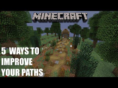 Minecraft: 5 Ways to Improve your Paths in Minecraft 1.9