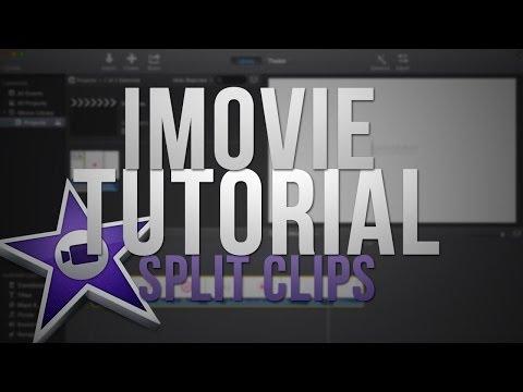 New iMovie 2014 - Split Clips (Tutorial)