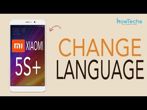Xiaomi Mi 5s Plus - How to Change Language