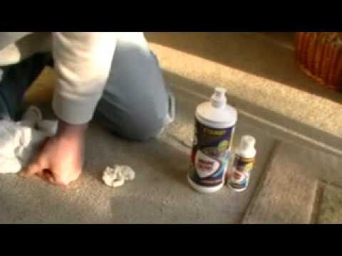 1000+ Stain Remover (Winning Colours) removing Great Stuff foam insulation with