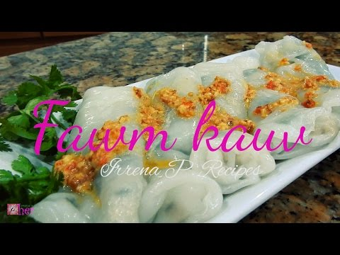 Steamed Rice Roll / fawm kaus