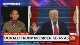Laporan Langsung VOA untuk CNN Indonesia: Pelantikan Donlad Trump, Presiden ke-45 AS