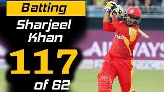 Sharjeel Khan Superb 117 Runs in 62 Balls | Islamabad United Vs Peshawar Zalmi | HBL PSL