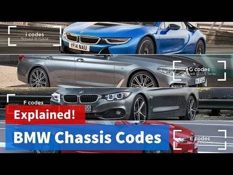BMW Chassis Codes: Explained!  / Vlog #02