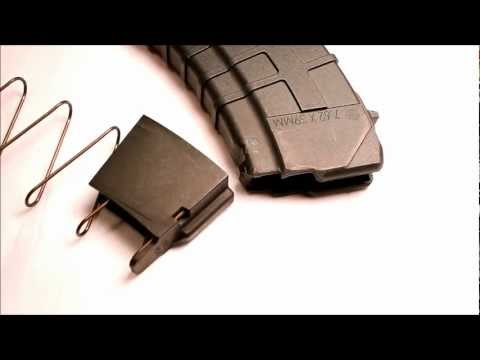 Tapco AK47 30 Round Magazine Polymer HD, Up Close and Detailed
