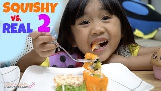 Download SQUISHY VS REAL FOOD PART 2 Video