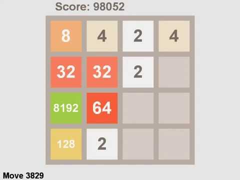 2048 AI Solver - 8192 tile achieved