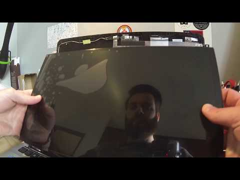 How to replace the laptop screen on a Asus X555L