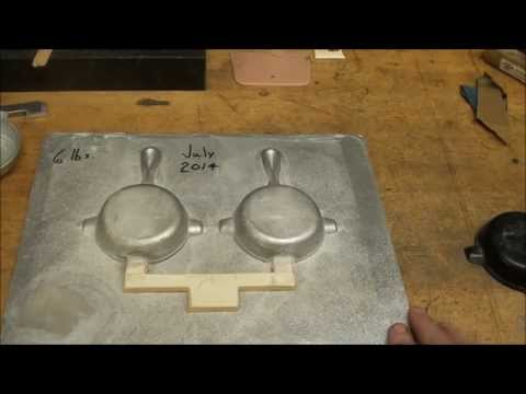 CASTING A FOUNDRY MATCHPLATE PATTERN part 1 of 4 tubalcain