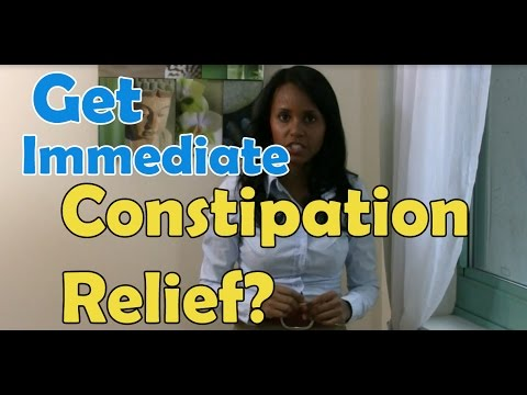 How To Get Immediate Constipation Relief - Jovanka Ciares
