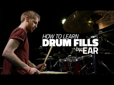 How To Learn Drum Fills By Ear - Drum Lesson (DRUMEO)