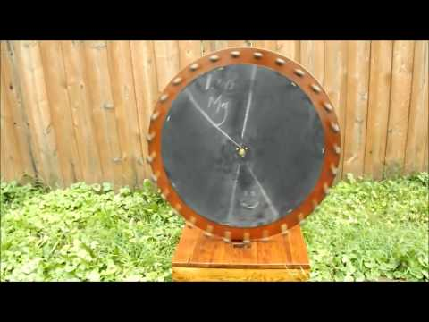 DIY Homemade Game Wheel.