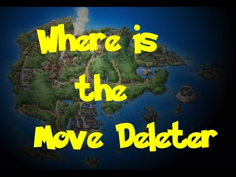 Where Is: The Move Deleter (Pokemon Ruby/Sapphire/Emerald)
